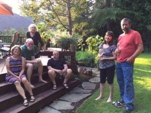 Book club group photo