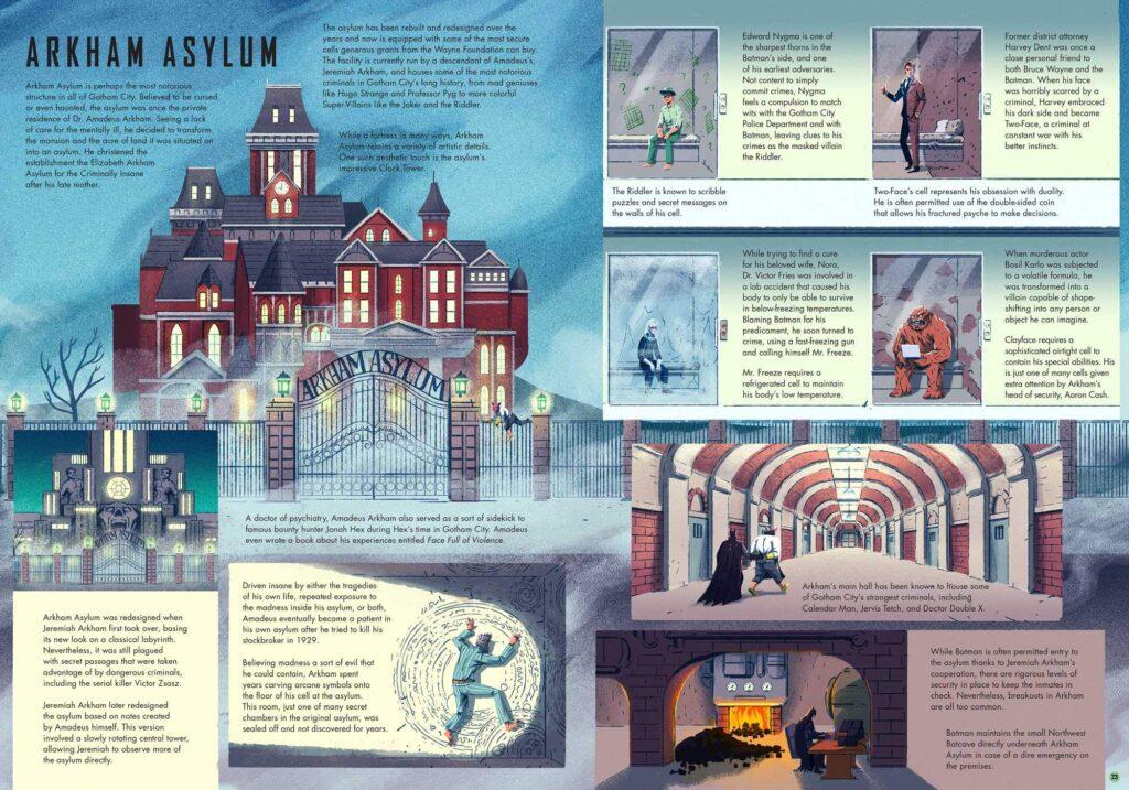 Exploring Gotham City inside page